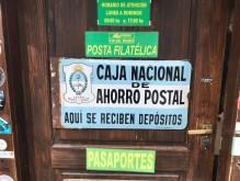 P.N Tierra del Fuego -Postamt