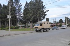 Chocrane an der Plaza de Armas