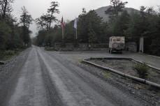 Carretera Austral Camp am Abzweir Ruta 7 - X91 nach OHiggins